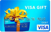 First Area Credit Union VISA Gift Cards